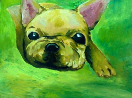 學生作品-油畫2
