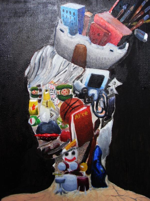 學生作品-油畫6