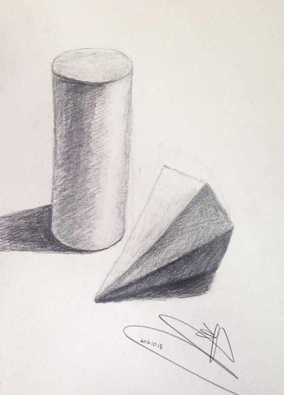 學生作品-素描2
