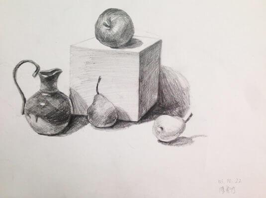 學生作品-素描1
